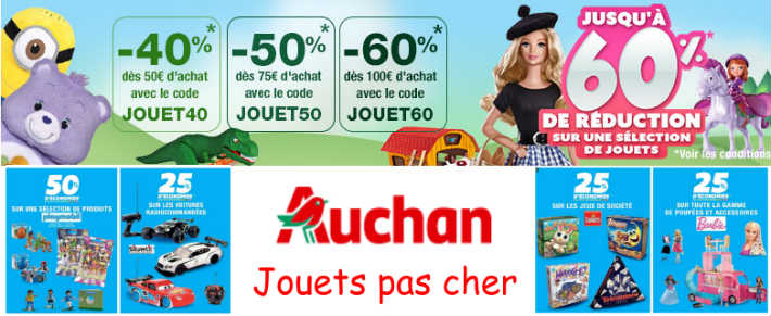 auchan op ration playmobil pas cher et destockage jouet de no l. Black Bedroom Furniture Sets. Home Design Ideas