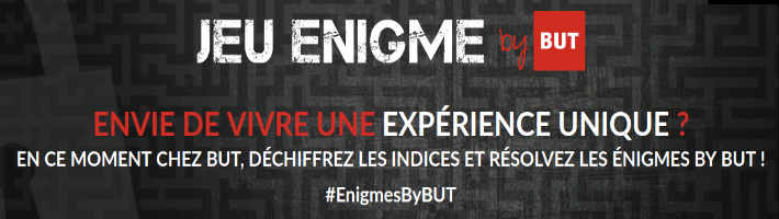 www.but.fr/enigme - Grand jeu énigme But