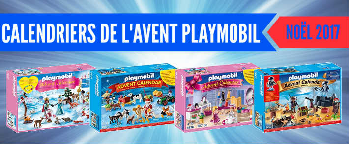 calendrier de l 39 avent playmobil 2017 pas cher. Black Bedroom Furniture Sets. Home Design Ideas