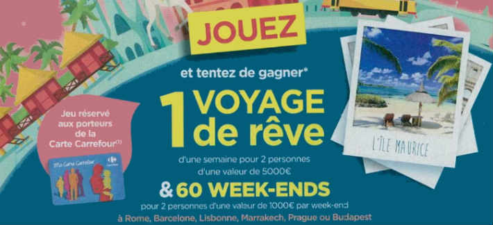Carrefour.fr/incroyable-anniversaire - Grand jeu Carrefour Contact