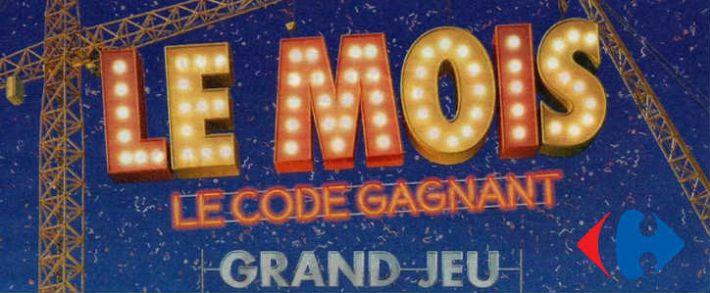 Carrefour.fr/le-mois-carrefour - Grand jeu coupon code gagnant