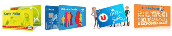 Carte fid lit carrefour auchan leclerc - Carte de fidelite auchan fr ...