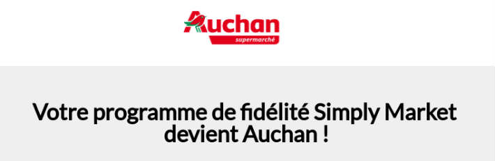 programme fid lit simply devient auchan. Black Bedroom Furniture Sets. Home Design Ideas