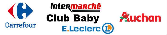 Club bébé Auchan Carrefour Leclerc