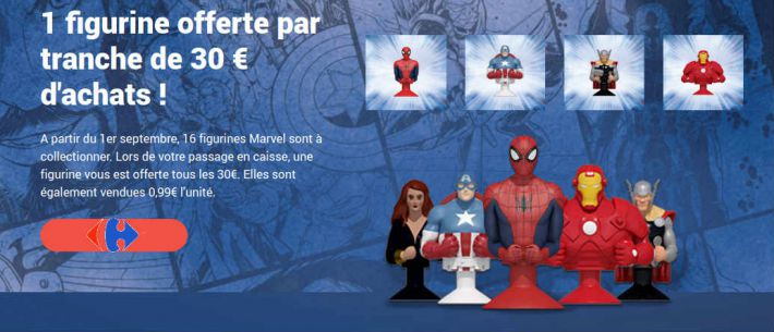 les figurines micropopz marvel super h ros mania super rentr e market carrefour. Black Bedroom Furniture Sets. Home Design Ideas
