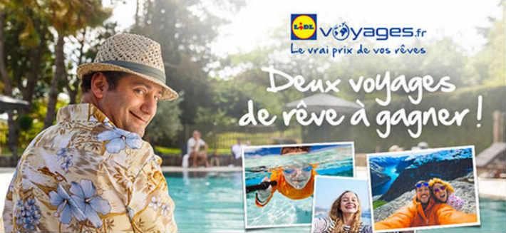 www.jeparsenvacancespatron.fr grand jeu Lidl Voyages