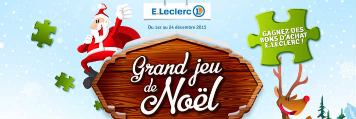 grand jeu leclerc puzzle de noel. Black Bedroom Furniture Sets. Home Design Ideas