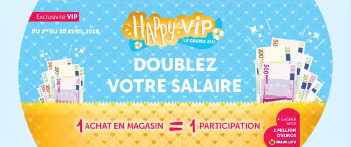Gifi grand jeu Happy VIP Gifi.fr