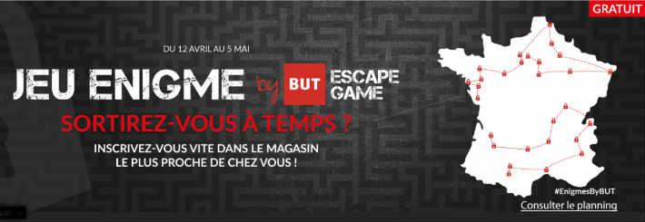 Grand jeu Escape Game Enigme BUT - Lesrendezvous.but.fr