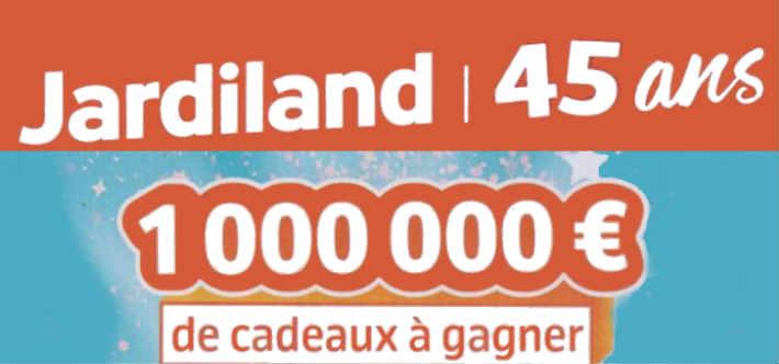 www.jardiland.com - Grand jeu anniversaire Jardiland