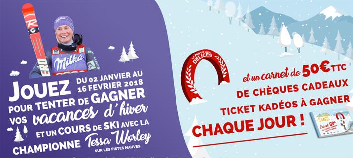 Grand jeu La piste des délices - www.lapistedesdelices.fr