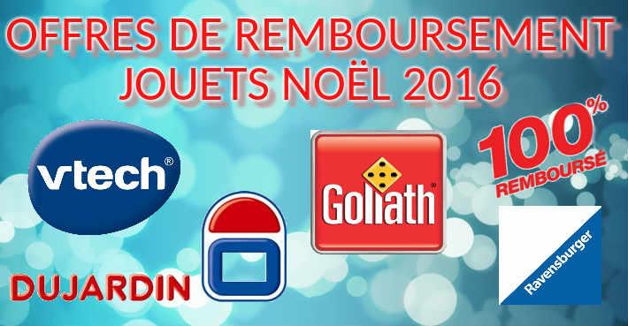 Liste offre de remboursement jeux jouets no l 2016 odr for Dujardin recrutement