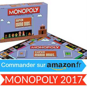 Nouveau Monopoly Noël 2017