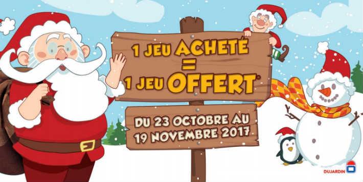 Offre de remboursement Dujardin 1 jeu offert - www.Jeuxdujardin.fr