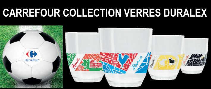 carrefour collection 10 verres collector duralex capitales. Black Bedroom Furniture Sets. Home Design Ideas