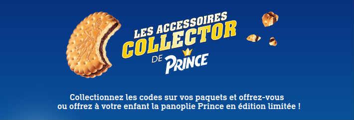 www.accessoires-prince.com - Code couronne cape panoplie collector Prince