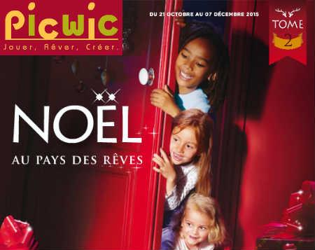 Catalogue jouet Picwic 2015 Tome 2 et 3